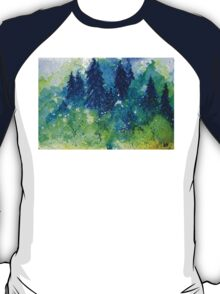 Tree Series - The Pine Trees by Heather Holland T-Shirt