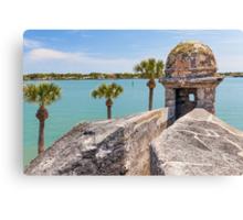 Castillo de San Marcos and Matanzas Bay, St. Augustine, FL Canvas Print