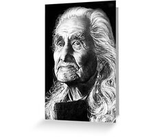 Chief Dan George Greeting Card