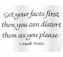 Get Your Facts First Poster