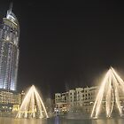 Fountains Down Town - Dubai by Paul Campbell  Photography