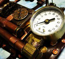 Steampunk Gauntlet 1.0 by PiscesAngel17