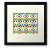 Colors Rectangle #2 Framed Print
