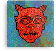 'Handsome Devil Mask #2' Metal Print