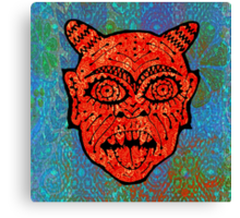 'Handsome Devil Mask #2' Canvas Print