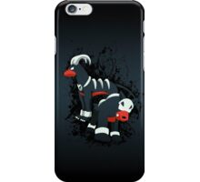 Houndour and Houndoom Splatter iPhone Case/Skin