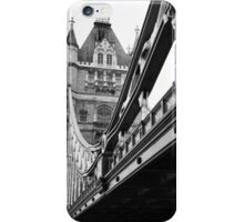 Tower Bridge in Black and White iPhone Case/Skin