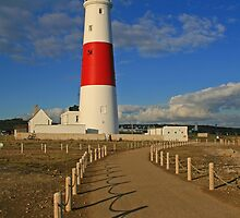 Lighthouse, Portland Bill by RedHillDigital