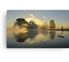 Bushy Park at Sunrise Canvas Print