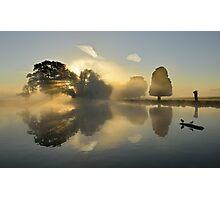 Bushy Park at Sunrise Photographic Print