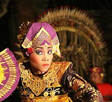 Balinese dancer, Ubud by ErinBromfield