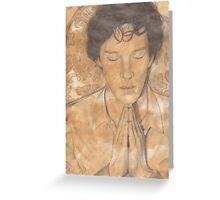 Sherlock's Mind Palace Greeting Card