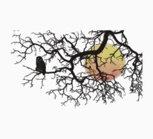 The Owl And The Moon T-Shirt