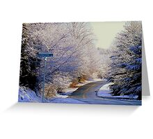 Winter Whirl  ^ Greeting Card