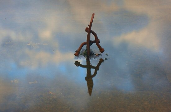A thing reflected by athex