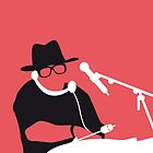 No022 MY RUN DMC Minimal Music poster by Chungkong