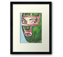 Kick Ass Framed Print