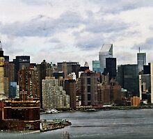 Manhattan Skyline by Jamie Greene