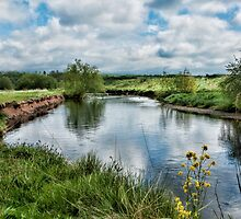 River Tame, North Warwickshire by John Edwards