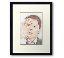 This is Heavy  Framed Print