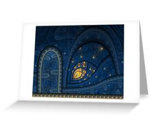 A door of perception Greeting Card