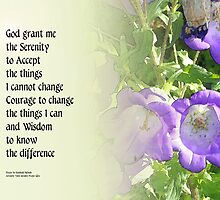 Serenity Prayer Bell Flowers by serenitygifts