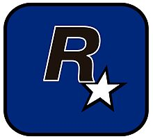 Rockstar North Logo Photographic Print
