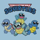 Teenage Mutant Ninja Squirtles by FlyNebula