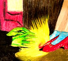 OZ THE RUBY SLIPPERS by JoAnnHayden