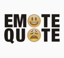 Emote Quote Black by emotequote