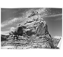 Arches National Park 8 BW Poster