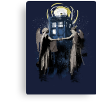 Wibbly Wobbly Blinky Winky Canvas Print