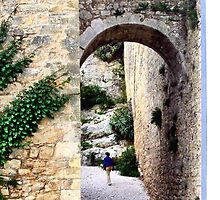 OBIDOS PORTUGAL WALLED CITY by JAYMILO