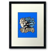 Forest Fighter Framed Print