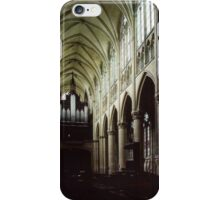 Nave of Cathedral St Etienne Chalons sur Marne France 198405060042 iPhone Case/Skin