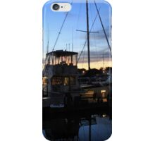 Fishing Boats ~ Waterfront Evening  iPhone Case/Skin