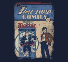 Time Lord Comics Kids Clothes