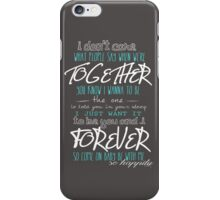 Happily - One Direction iPhone Case/Skin