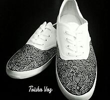Tribal Shoes - $50 by Trisha Vaz