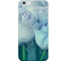 Soft Blue Roses iPhone Case/Skin