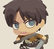 Eren Jaeger: Attack on Titan by Jelly Gem