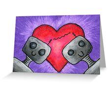 Love Bots Greeting Card