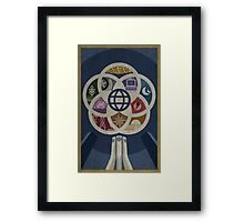 EPCOT Center iPhone and TShirt Framed Print