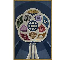EPCOT Center iPhone and TShirt Photographic Print
