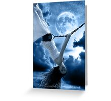 Moonlight Symphony Greeting Card