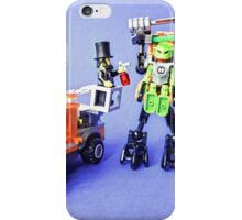 Even droids are sensitive about body odour! iPhone Case/Skin