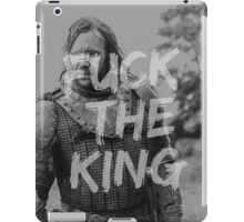 The Hound - Fuck the King iPad Case/Skin