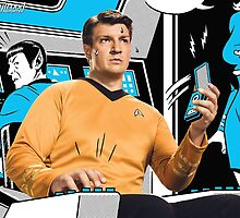 Nathan Fillion in Star Trek by shoshgoodman