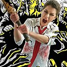 Tatiana Maslany in Shaun of the Dead (SDCC 2014) by shoshgoodman