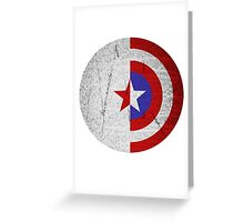 Cap and Bucky Greeting Card